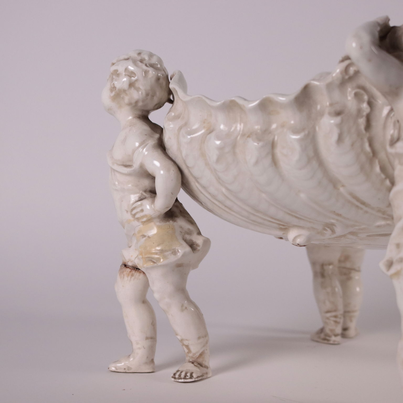 Alzatina in Ceramica Maiolicata - Ceramiche - Antiquariato ...