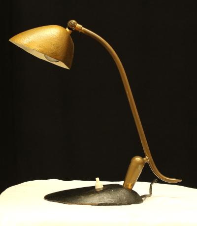 Lampada da scrivania anni 40 50 illuminazione modernariato - Lampade da tavolo anni 50 ...