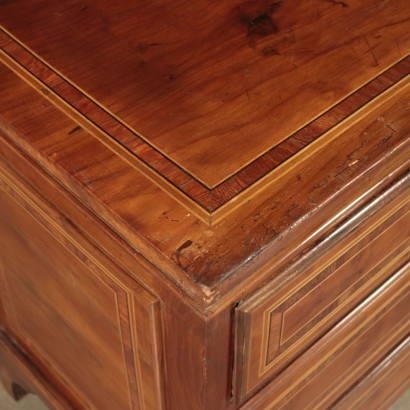 Chest of Drawers Marple Cherry Walnut Italy 18th Century