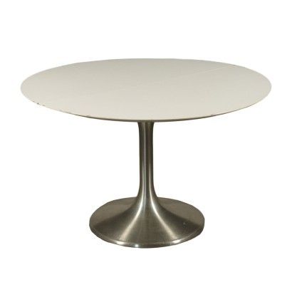 Table Formica Chromed Metal Italy 1960s 1970s