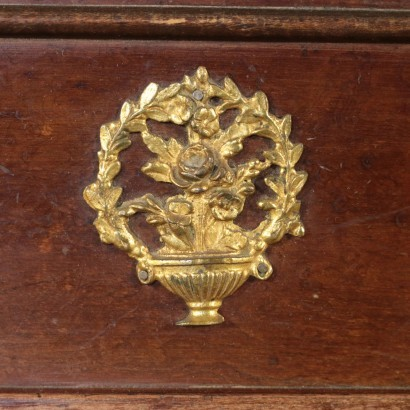 Cupboard Elm Gilded Bronze Northern Europe 19th Century