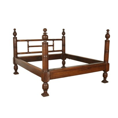 Baroque Bed Walnut Spain 18th Century