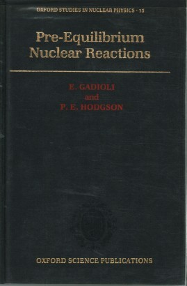 Pre-Equilibrium Nuclear reactions