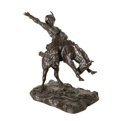 Rodeo of Paul Troubetzkoy Bronze 20th Century