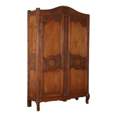 Neo-Classical Provencal Wardrobe Cypress France 18th Century