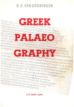 Short manual of greek palaeography
