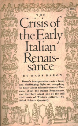 The crisis of the early Italian Renaissance