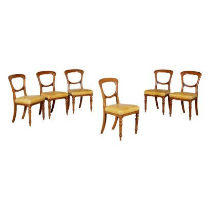 Group of & Revival English Chairs Mahogany England 20th Century