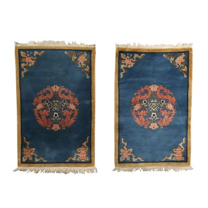 Pair of Pekino carpets - China