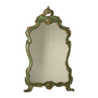 Venice Barocchetto Revival Mirror Italy 20th Century