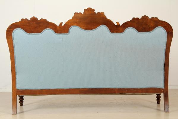 Sedie Ottocento Francese : Divano luigi filippo sedie poltrone divani antiquariato