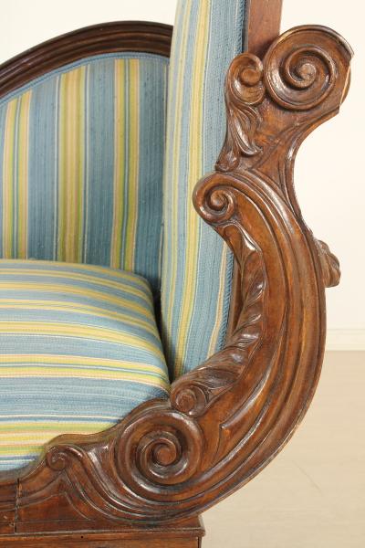 Dormeuse Luigi Filippo - Sedie poltrone divani ...