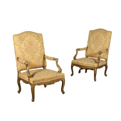Pair of Style Armchairs