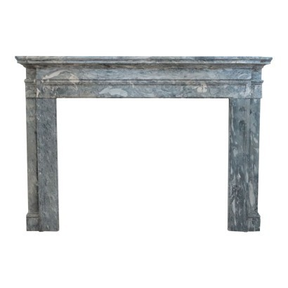 Neo-Classical Tuscan Fireplace Marble Italy 18th Century