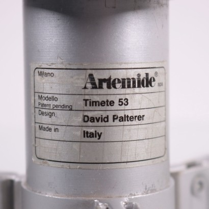 Artemide Lamp Aluminum Glass 1980s-1990s David Palterer