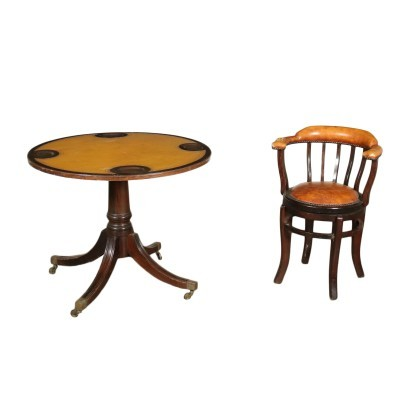 Game Table and Swivel Chair