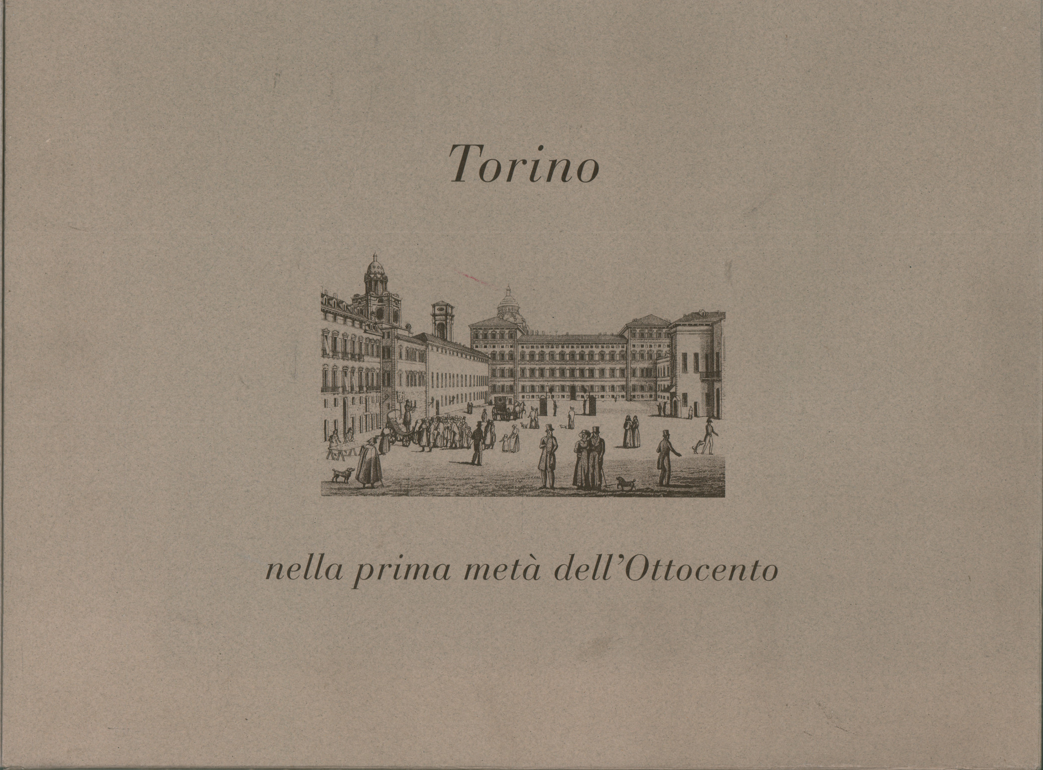 Turin in the first half of the nineteenth century and the vedut, Ada Peyrot