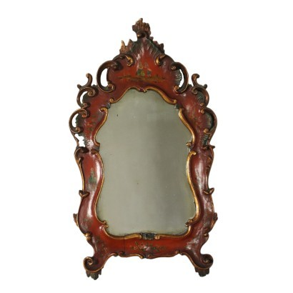Venetian Barocchetto Revival Mirror Italy 20th Century