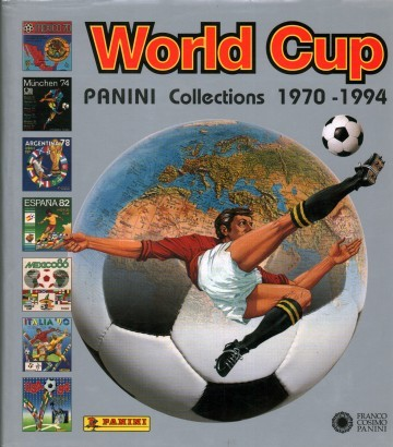 World Cup Panini Collections 1970-1994