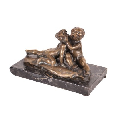 Young Love Bronze Sculpture