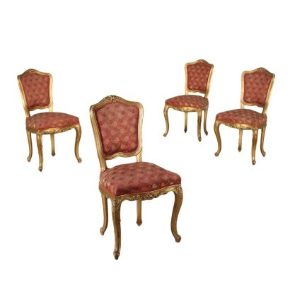 Group of Four Style Chairs