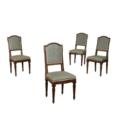 Group of Four Neoclassical Chairs