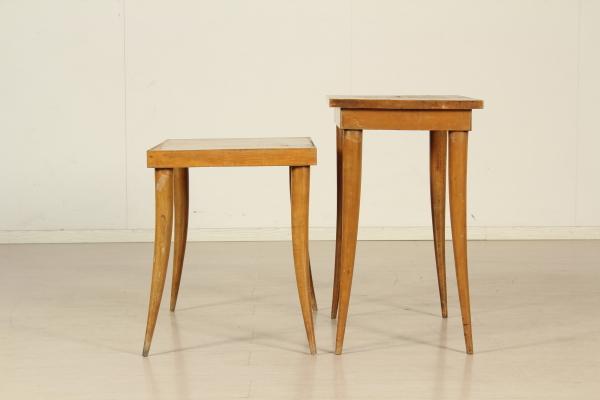 Tavolini anni 40 50 complementi modernariato for Tavolini anni 50