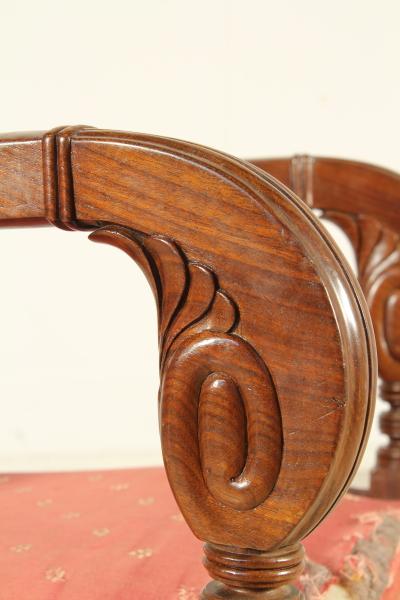 Coppia poltrone restaurazione sedie poltrone divani for Poltrone sedie
