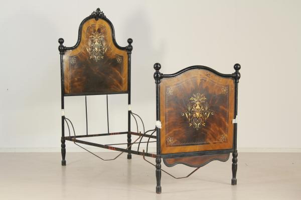 Letto in ferro effetto legno - Mobili in stile - Bottega del 900 ...