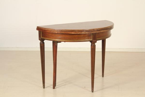 Tavoli Da Parete Allungabili : Tavolo allungabile da parete mobili in stile bottega del