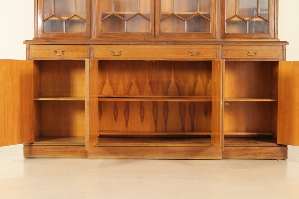 Libreria stile inglese mobili in stile bottega del 900 for Piani di libreria stile artigiano