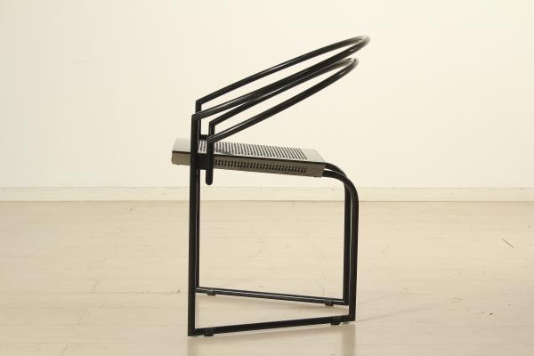 Sedia attribuibile a mario botta sedie modernariato for Sedie design anni 80