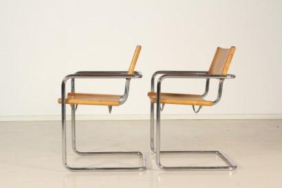Coppia sedie unifor for Unifor milano