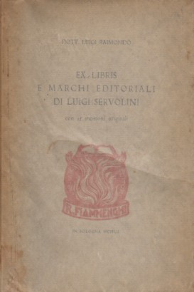 Ex libris and imprints of Luigi Servolini