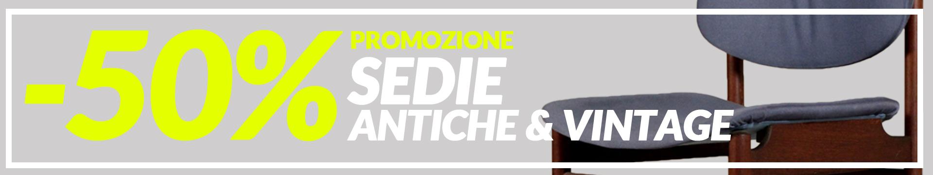 Promozione Sedie Antiche & Vintage -50%