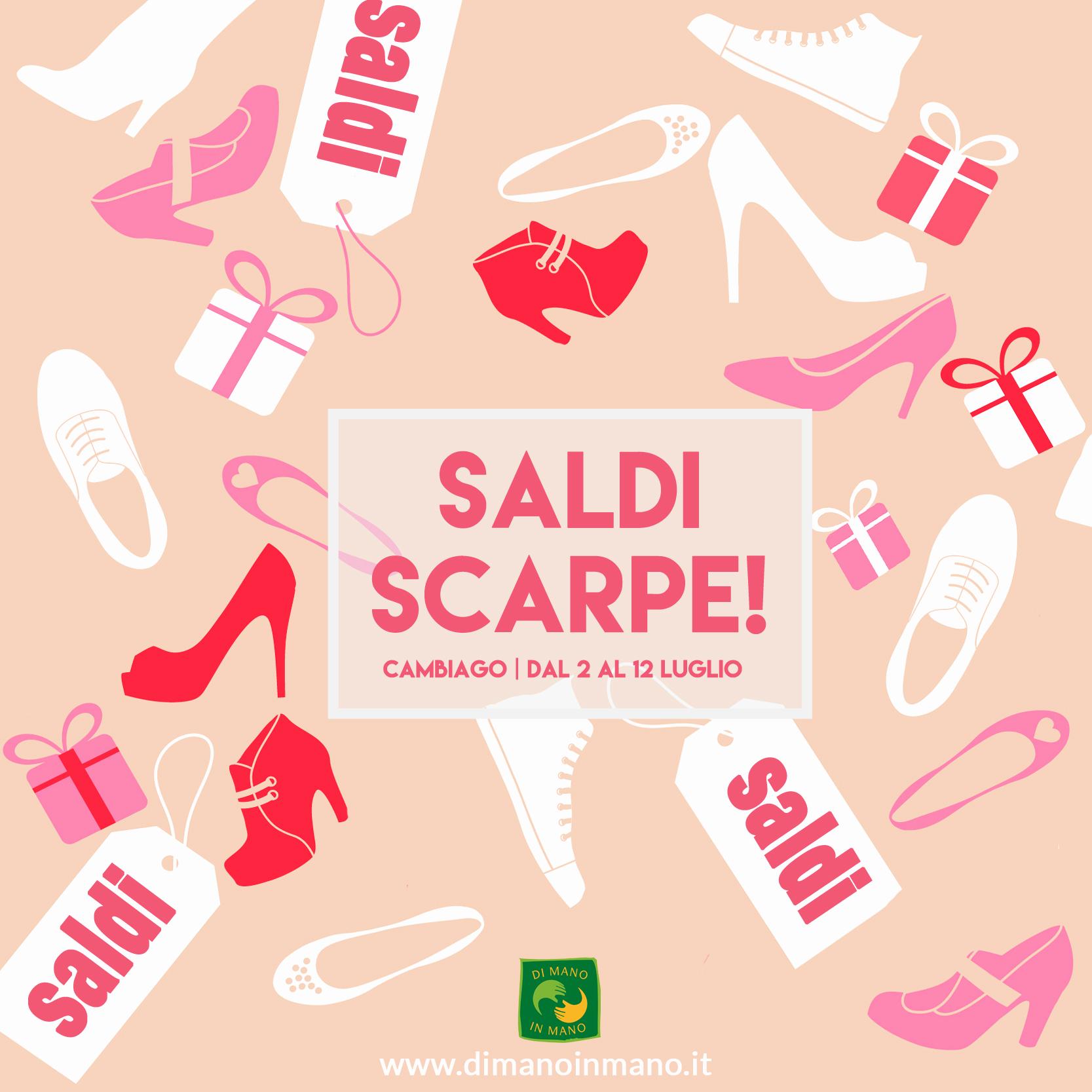 Di mano in mano saldi scarpe 2016 for Saldi mobili 2016