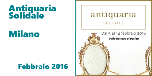 Antiquaria Solidale 2016