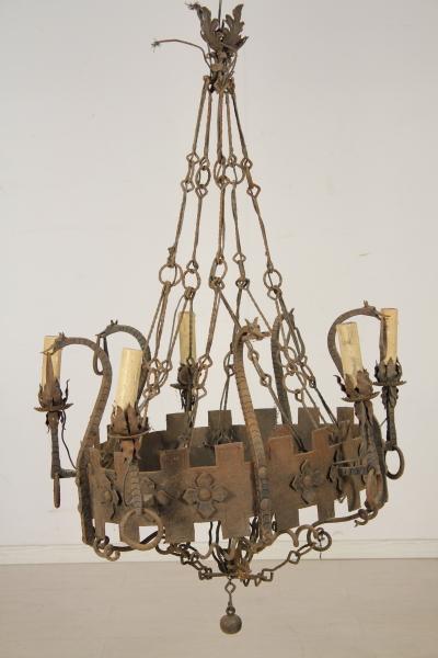 Antiquariato antichit u00e0  Lampadari e lumi -> Lampadari Antichi In Porcellana