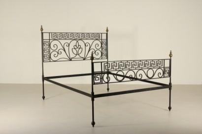 Letto ferro battuto neoclassico - Spalliere letto in ferro battuto ...