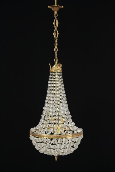 Illuminazione  Lampadario in stile impero -> Lampadario Antico Stile Impero