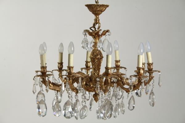 lampadari usati : Lampadario - Illuminazione - Bottega del 900 - dimanoinmano.it