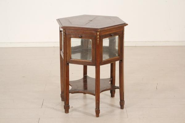 Liberty tavolino vetrina for Tavolino con vetrina