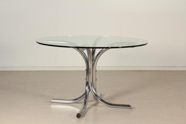 Di mano in mano tavoli di modernariato for Tavolo cristallo allungabile usato