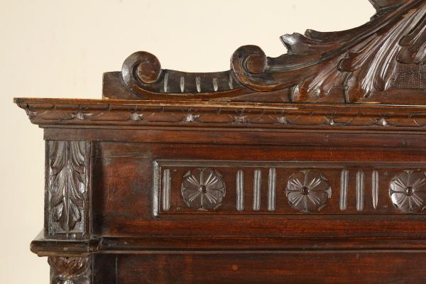 Cassapanca legno con schienale design for Cassapanca roma