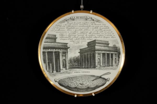 Gruppo di 4 piatti decorativi oggettistica modernariato - Piatti decorativi ...