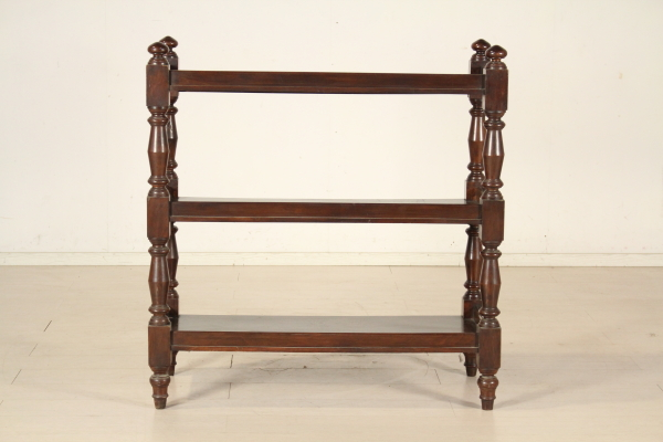 Nußbaum Bücherregal  Andere Möbel  Antiquitäten