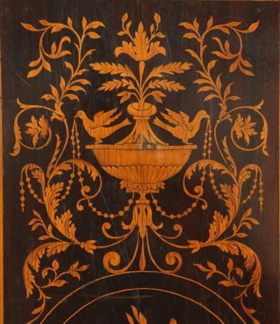 Tavolo Da Gioco Intarsiato Tavolini Antiquariato