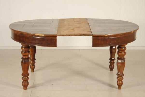 tavolo tondo apribile con prolunga tavoli antiquariato