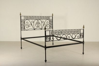 Letto ferro battuto neoclassico letti e testate antiquariato - Testate letto in ferro battuto prezzi ...