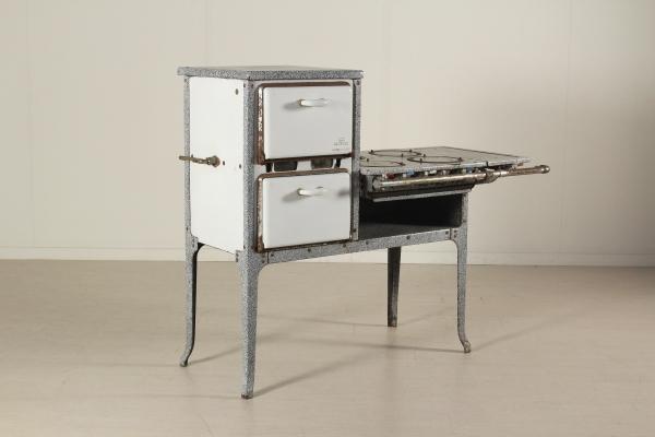 Cucina a gas anni 50 - Mobilio - Modernariato - dimanoinmano.it